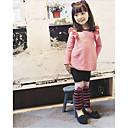 Dívka je Jednobarevné Zima Sady oblečení Směs bavlny