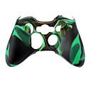 Bežični kontroler Silikonska torbica za Xbox360 (zelena)