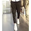 Obično Muška Chinos hlače Ležerne prilike,Pamuk Crna / Plava / Siva