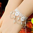 ジュエリー 甘ロリータ ブレスレット プリンセス ホワイト ロリータアクセサリー ブレスレット フラワー のために 女性 レース / 合金 / 人工宝石