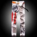 Muška Američka zastava Ispis Slim traperice