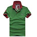 Happy Time Rever šivanje Boja Shirt (Green)