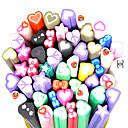 20pcs Polymer Ljubav-Shape Lovački Štapovi Nail Art dekoracija