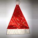 ハット サンタスーツ イベント/ホリデー ハロウィーンコスチューム レッド / ホワイト ハット クリスマス ベルベット