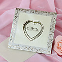 "Non-personalizaton Top Fold Vjenčanje Pozivnice Pozivnice-50 Piece / Set Classic Style Pearl papira 6 ""x 6"" (15 * 15cm)"
