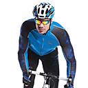 Mysenlan Pánské Dlouhé rukávy Jezdit na kole Dres Vrchní část oděvu Zahřívací Rychleschnoucí Větruvzdorné Nositelný Prodyšnéelastan 100%