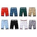 Debe Pánské volný čas Solid Color střední délka kalhoty # 1