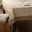 簡潔なスタイルのストライプテーブルクロス
