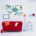 Createforlife ® Barevné abstraktní rámy Dětská školka pokoj Wall Sticker Wall Art Decals