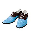Oxfordky Modrá Pánské boty Kůže Svatba / Party