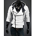 Men's Hoodie Sweats & Hoodies , Cotton / Cotton Blend Long Sleeve Casual Fashion Winter / Fall YTFT