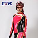 MYSENLAN® Biciklistička majica s tajicama Žene Dugi rukav BiciklProzračnost / Ugrijati / Quick dry / Ultraviolet Resistant / Moisture
