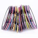 38pcs mješoviti boje role striping traka linijski nail art ukras naljepnicu