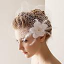 Vjenčani velovi One-tier Rumenilo Burke 10-20 cm Til Bijela Retka, Ball haljina, princeza, Plašt / stupac, Truba / sirena