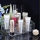 Akril Transparent 4x6 Kvadrat Kozmetika Storage Stand Makeup Brush Cell Kozmetička Organizator