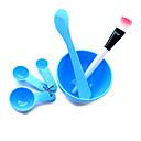 Ljepota DIY ruke / lice / stopala maska set (slučajni boja)