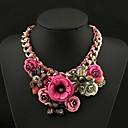 ženski luksuzna šarene dragi kamen ogrlica
