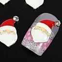 10pcs Djed Mraz za xmans prst savjeta pribor za nail art ukrasa