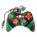 Xbox 360のためのシリコンスキンカバーで有線デュアルショックコントローラ