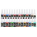 dragonhawk® tetovaža tinte pigment komplet 5 ml 28 boja