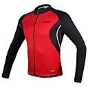 SANTIC® Biciklistička majica Muškarci Dugi rukav BiciklProzračnost / Anatomski dizajn / Ultraviolet Resistant / Visoka prozračnost (>