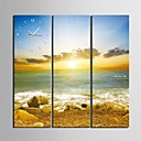obala Sunrise prizora sat u platnenim 3pcs