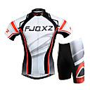 FJQXZ® Biciklistička majica s kratkim hlačama Muškarci Kratki rukav BiciklProzračnost / Quick dry / Vjetronepropusnost / Ultraviolet