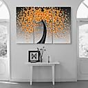 ispruži sreća cvijeće platnu umjetnosti cvjeta apstraktnog slikarstva set 3