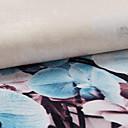 jeden panel ture květinový botanický polyester opona přikrýt