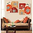 osobní plátně umění okázalé květiny 45x45cm 55x55cm zarámovaný malířské plátno sada 2