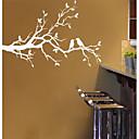 jiubai ™ stablo grana i ljubitelj ptica zidna naljepnica zid decal