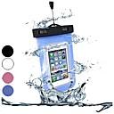 釣り、水泳やアウトドアスポーツにポリ塩化ビニールの防水携帯電話ケース(アソートカラー)