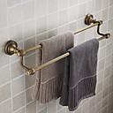 double bar ručník, staromosaz úprava mosaz materiál, koupelna příslušenství