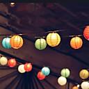 10 LEDソーラーランタン結婚式のパーティー屋外クリスマスストリングライトガーデンランプ