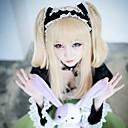 Cosplay Wigs Cosplay Cosplay Zlatna Long Anime Cosplay Wigs 80 CM Otporna na toplinu vlakna Female