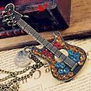 dámská vintage kytara svetr řetěz