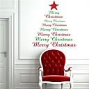 jiubai® vánoční strom quote zeď nálepka Lepicí obraz na stěnu