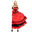 Cosplay Kostýmy / Kostým na Večírek Roman Costumes / Egyptian Costumes Festival/Svátek Halloweenské kostýmy Červená PatchworkVrchní deska