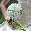 """Svatební kytice Kulatý Růže Kytice Svatba Párty / večerní akce Hedvábí 17 cm (cca 6,69"""")"""