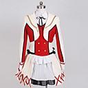 Inspirovaný Love Live Kotori Minami Anime Cosplay kostýmy Cosplay šaty Barevné bloky Biały / CzerwonyKabát / Tričko / Sukně / Vlasové