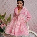 パーティー/イブニング ドレス ために バービー人形 ピンク トップス のために 女の子の 人形玩具