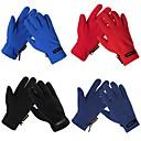 Biciklistička protiv proklizavanja zaštitne hladno-toplo dokaz pune prstiju rukavice poliester multi-boji