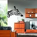 ウォールステッカーウォールステッカー、家の装飾かわいいキリンは、壁画PVCウォールステッカーを引用