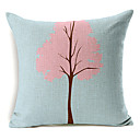 country stilu stablo uzorak pamuka / lana dekorativne jastučnicu