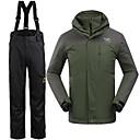 Muškarci Zimska jakna / Kompleti odjeće/odijela Skijanje Vodootpornost / Ugrijati / Vjetronepropusnost Zima Vojska GreenS / M / L / XL /