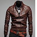 gotobiメンズファッションスタンドカラーロングスリーブのコート