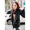 jedan xuan® ženske modne stoje vrata vunenu jaknu