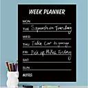 """Blackboard zidne naljepnice zidne naljepnice """"tjedan planner"""" značajka prijenosnih washable PVC"""