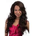 bez krytky mix color extra dlouhá vysoce kvalitní přírodní kudrnaté vlasy syntetické paruka s nevznikla třesku