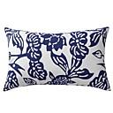 現代の花柄綿装飾的な枕カバー